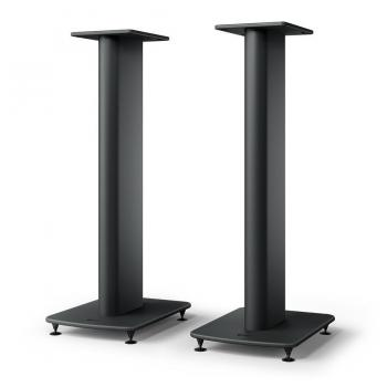 KEF S2 Floor Stand, Carbon Black