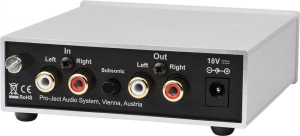 ProJect Phono Box S2, silber